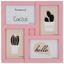 Rám Na Obrazy Cenový Trhák - bílá/růžová, karton/umělá hmota (29,2/29,2/2,5cm) - Based