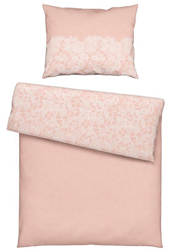 Povlečení Evelin - růžová, Romantický / Rustikální, textil (140/200cm) - Mömax modern living
