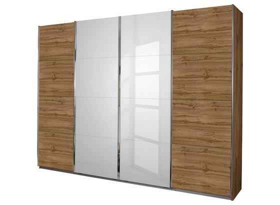 Skriňa S Posuvnými Dverami Bensheim 271/211 Hg - farby dubu/biela, Moderný, kompozitné drevo (271/211/62cm) - James Wood