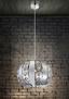 Hängeleuchte Galcia Ø 35 cm - Klar, MODERN, Glas/Metall (35/120cm)