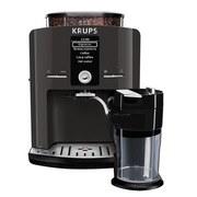 Kaffeevollautomat EA82F8 - Schwarz, Basics, Kunststoff/Metall (38,1/28,7/48,4cm) - Krups