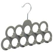 Accessoires-Bügel Comfort - Dunkelgrau, Basics, Kunststoff/Metall (22/30,5cm) - Homezone