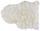 Kůže Ovčí Emma - bílá, textilie (60/45cm) - Mömax modern living