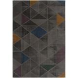 Hochflorteppich Turin, 120/170 - Grau, MODERN, Textil (120/170cm)