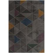 Hochflorteppich Turin, 60/115 - Grau, MODERN, Textil (60/115cm)