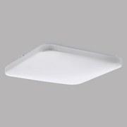 LED-Deckenleuchte Frania - Weiß, MODERN, Kunststoff/Metall (33/33/7cm)