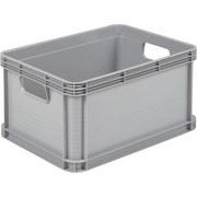 Eurobox Robert - Hellgrau, KONVENTIONELL, Kunststoff (40/30/22cm)