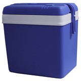 Kühlbox 24 Liter - Blau, MODERN, Kunststoff (35/25/39cm)