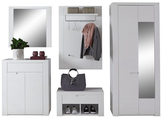 Odporúčaná Kombinácia Skrine Bree 6 - biela, Moderný, kartón/kompozitné drevo (255/203/38cm)