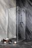 Glas Schwingtür Sanoflex Brava 75-77cm - KONVENTIONELL, Glas (75-77/195cm)