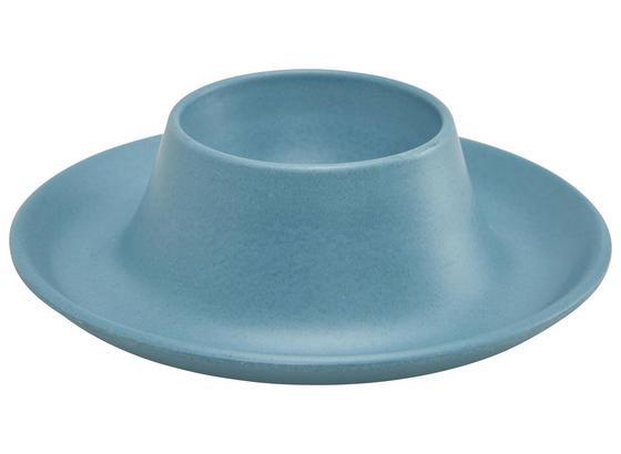 Kalíšek Na Vejce Anabel - modrá, Natur, přírodní materiály/umělá hmota (10/3cm) - Zandiara