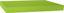 Nástenná Polica Simple 80 - zelená, Moderný, umelá hmota/drevený materiál (80/3,8/23,5cm)