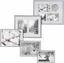 Rám Na Obrazy Mara - barvy stříbra, umělá hmota (16,1/21,2/1,8cm) - Modern Living