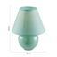Stolová Lampa Irma - mätovozelená, Romantický / Vidiecky, textil/keramika (18/25cm) - Mömax modern living