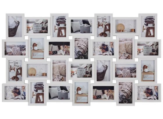 Rám Na Fotky Bella - biela, plast (104/60,4/2,5cm) - Mömax modern living
