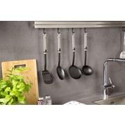 Küchenhelferset Gizmo, 4-teilig - Edelstahlfarben/Schwarz, Basics, Kunststoff/Metall (35cm)