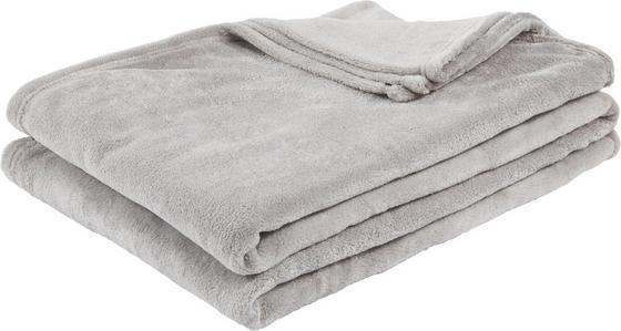 Deka Kuschelix - šedá, textil (140/200cm)