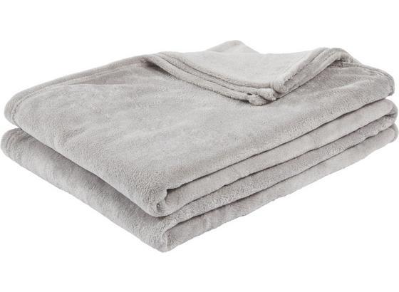 Deka Kuschelix - sivá, textil (140/200cm)