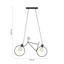 Závěsné Svítidlo Bike - černá, Lifestyle, kov (77,5/122cm) - Mömax modern living