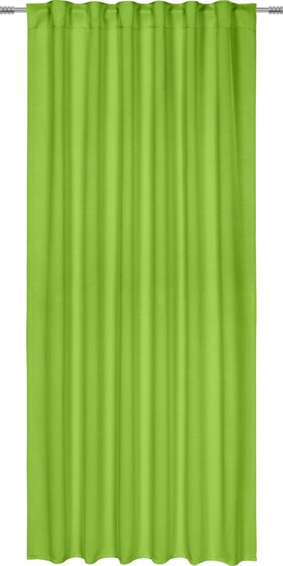 Zatemňovací Závěs Riccardo - zelená, Moderní, textilie (140/245cm) - Premium Living