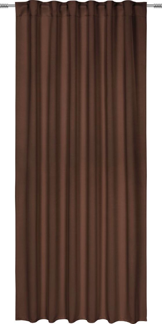 Zatemňovací Závěs Riccardo - hnědá, Moderní, textilie (140/245cm) - Premium Living