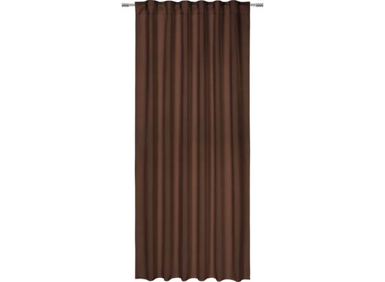 Zatemňovací Záves Riccardo - hnedá, Moderný, textil (140/245cm) - Premium Living