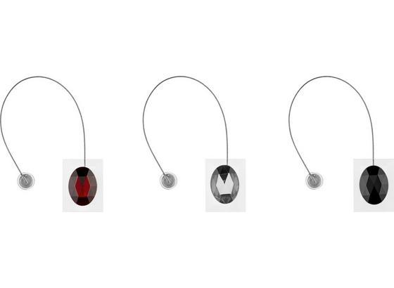 Úchytka Řasicí Diamond - bílá/černá, Lifestyle (4,2/5,5cm) - Modern Living