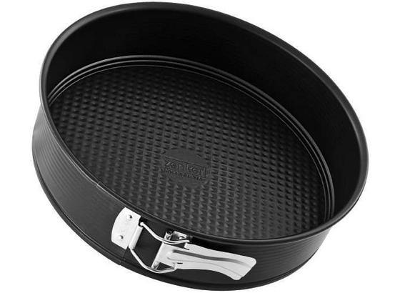 Sütőforma Teflon Bevonattal - Fekete, konvencionális, Fém (24cm)