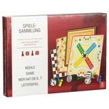 Spielesammlung mit Extragroßen Spielsteinen Ass Altenburger - Karton