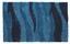 Hochflorteppich Carina 100x160 cm - Türkis, KONVENTIONELL, Textil (100/160cm) - Luca Bessoni
