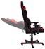 Gamingstuhl DX Racer R1 Schwarz/Rot - Rot/Schwarz, MODERN, Kunststoff/Textil (64/125-135/68cm) - Dxracer