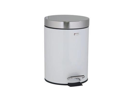 Kosmetikeimer 3 Liter - Schwarz/Weiß, KONVENTIONELL, Kunststoff/Metall (17/24cm)
