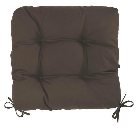 Sedák Elli-hit- - hnědá, textil (40/7/40cm) - MÖMAX modern living