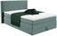 Boxspringbett Allegra 140x200 Pastellgrün - Pastellgrün/Schwarz, KONVENTIONELL, Holz/Holzwerkstoff (140/200cm)