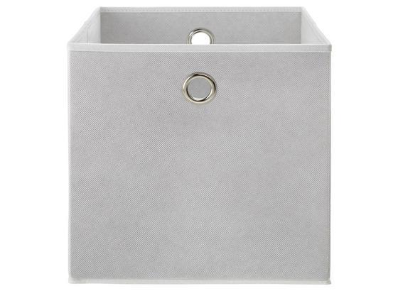 Skladací Box Fibi -ext- -top-based- - biela, Moderný, kartón/kov (30/30/30cm) - Based