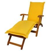 Liegenauflage Premium B: 50 cm Gelb - Gelb, Basics, Textil (50/8-9/190cm) - Ambia Garden
