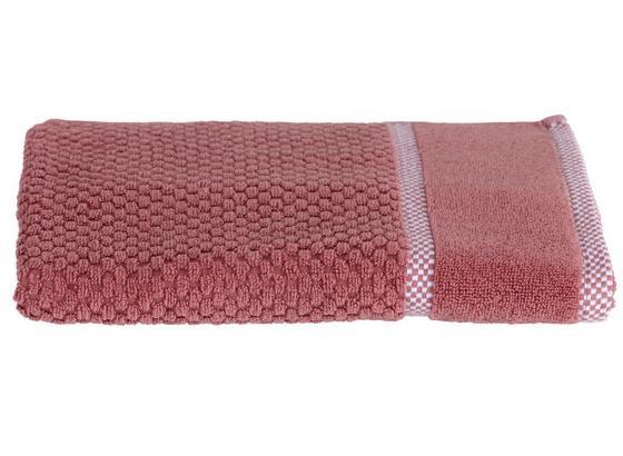 Handtuch Rocky - Rosa, ROMANTIK / LANDHAUS, Textil (50/100cm) - James Wood