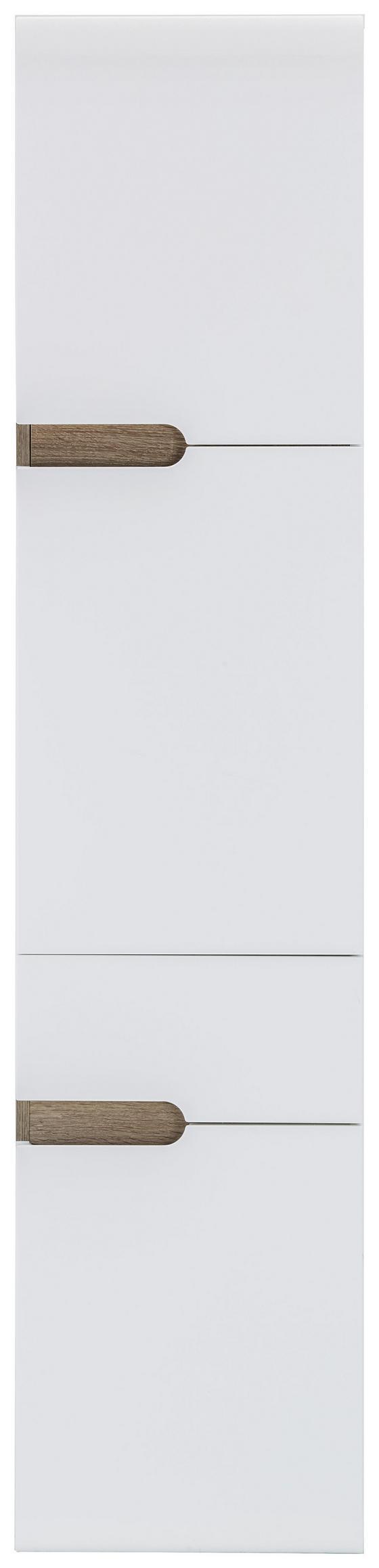 Vysoká Skříň Linate Rechts - Moderní, dřevěný materiál (40/176/31cm)