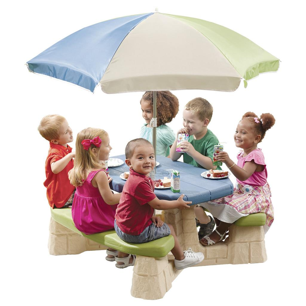 Stôl Pre Deti Step2 So Slnečníkom