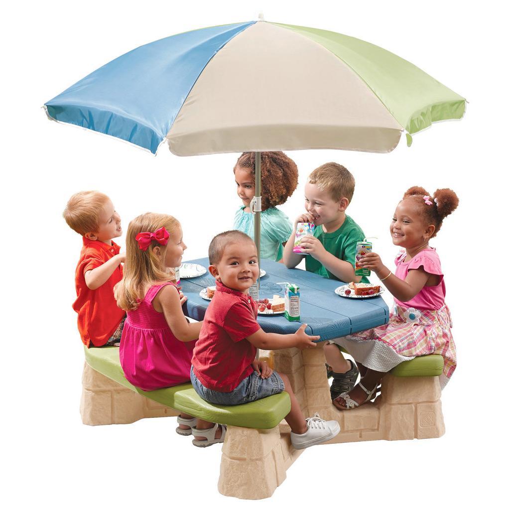 Stůl Pro Děti Step2 Se Slunečníkem