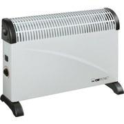 Konvektor Heizung Kh 3077 - Schwarz/Weiß, MODERN, Kunststoff/Metall (63/45/14,5cm) - Clatronic