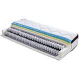 Boxspringmatratze Aurelie 90x200cm H2/H3 - Weiß, Textil (90/200cm) - Ele