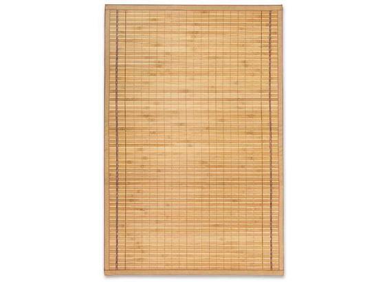 Bambusz Szőnyeg Greta - Világosbarna, konvencionális, Fa (70/240cm) - Ombra