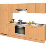 Küchenblock Nano B: 270 cm Buche Dekor - Buchefarben, MODERN, Holzwerkstoff (270/60cm) - MID.YOU