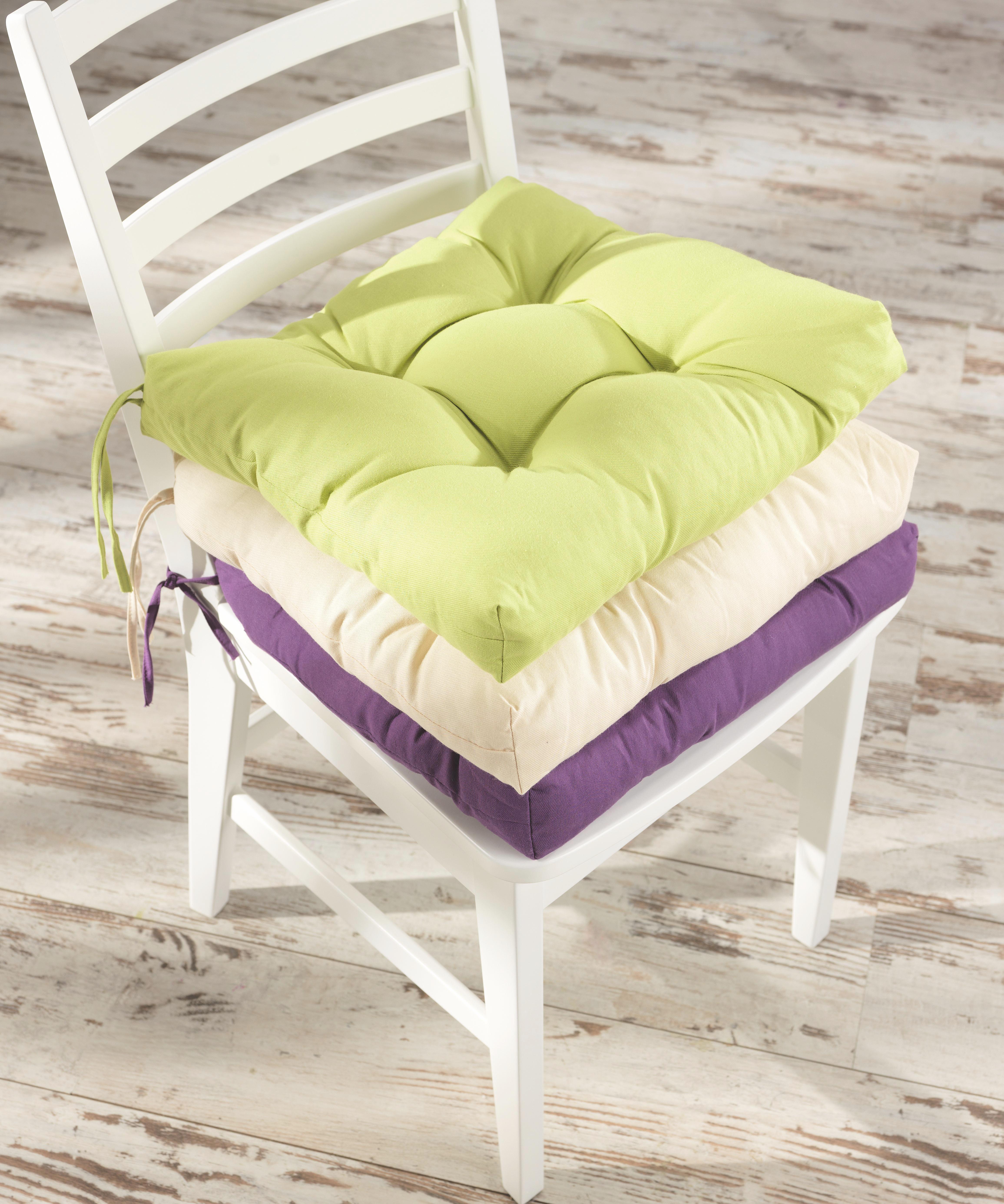 Sedák Elli-hit- - zelená, textil (40/7/40cm) - MÖMAX modern living