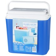 Kühlbox 22 Ltr. - Blau/Weiß, KONVENTIONELL, Kunststoff (40/24/40cm)