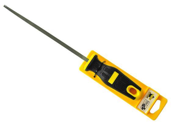 Feile Vierkant 8' Profi, 200mm - Gelb, KONVENTIONELL, Metall (25cm)