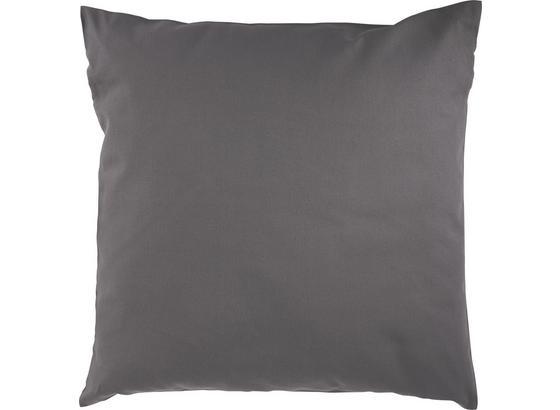 Dekoračný Vankúš Cenový Trhák - antracitová, textil (50/50cm) - Based