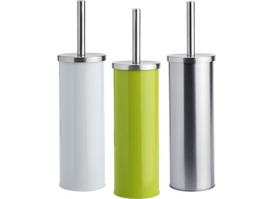 Wc Čistiaca Sada Beate - biela/zelená, Konvenčný, kov/plast (9,5/26,7cm) - Mömax modern living