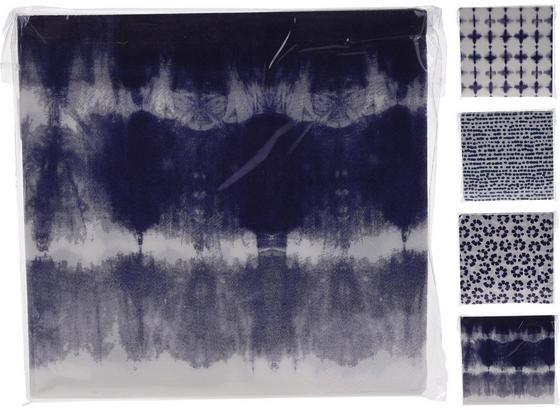 Serviette Maritim - Blau/Weiß, Basics, Papier (33/33cm)